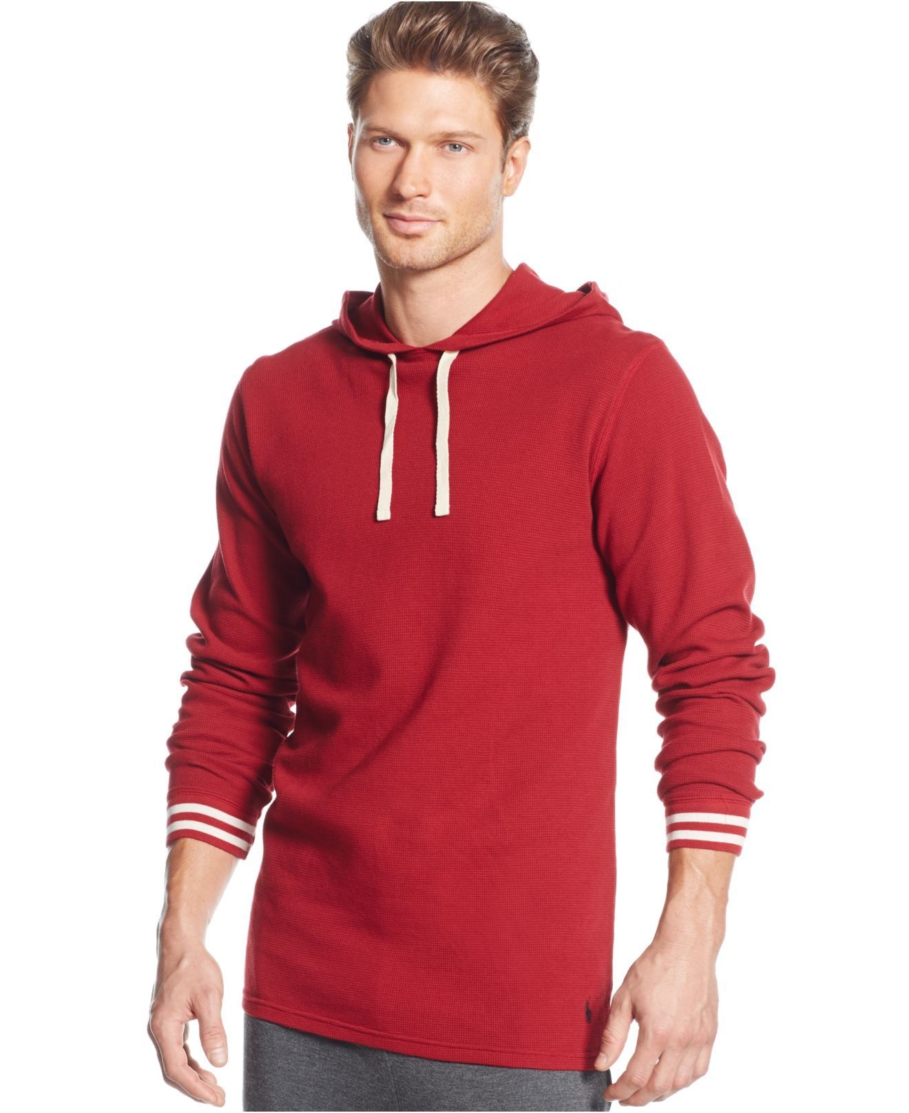 a2216474 polo-ralph-lauren-avenue-red-mens-solid-raglan-waffle-thermal-hoodie-red-product-0-592098239-normal.jpeg  (1320 1616) | POLO RALPH LAUREN | Pinterest | Polo ...