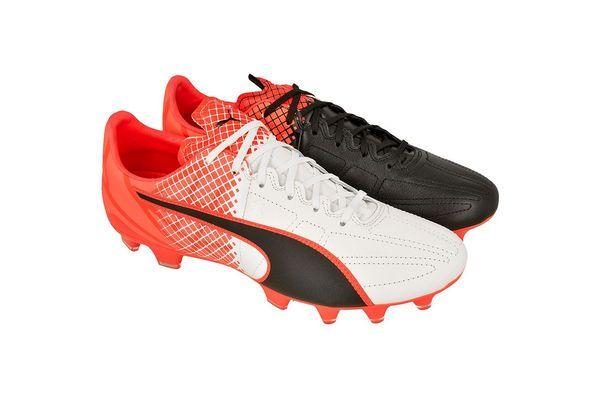 Buty Pilkarskie Puma Evospeed 3 4 Tricks Leather Fg M 10379401 Wielokolorowe Niebieski Bialy Czarny Sport Shoes Shoes Puma