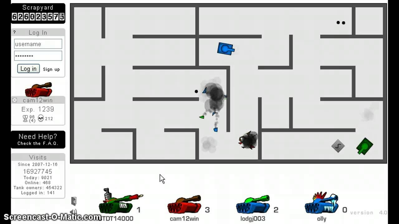 Tank Trouble 2 Unblocked Games At School Gamewithplay
