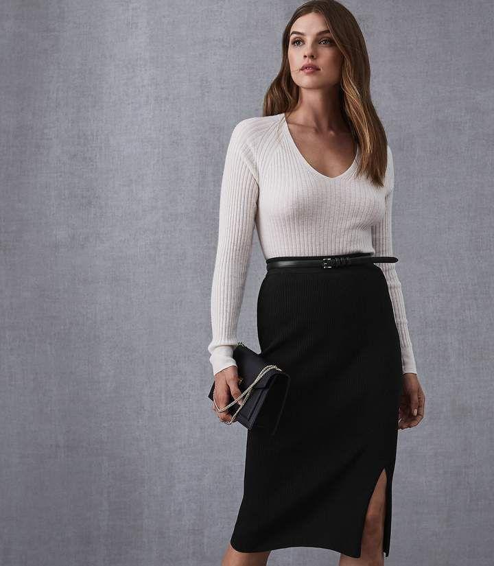 1f115c34d Naomi | Products | Black midi skirt, Midi Skirt, Skirts