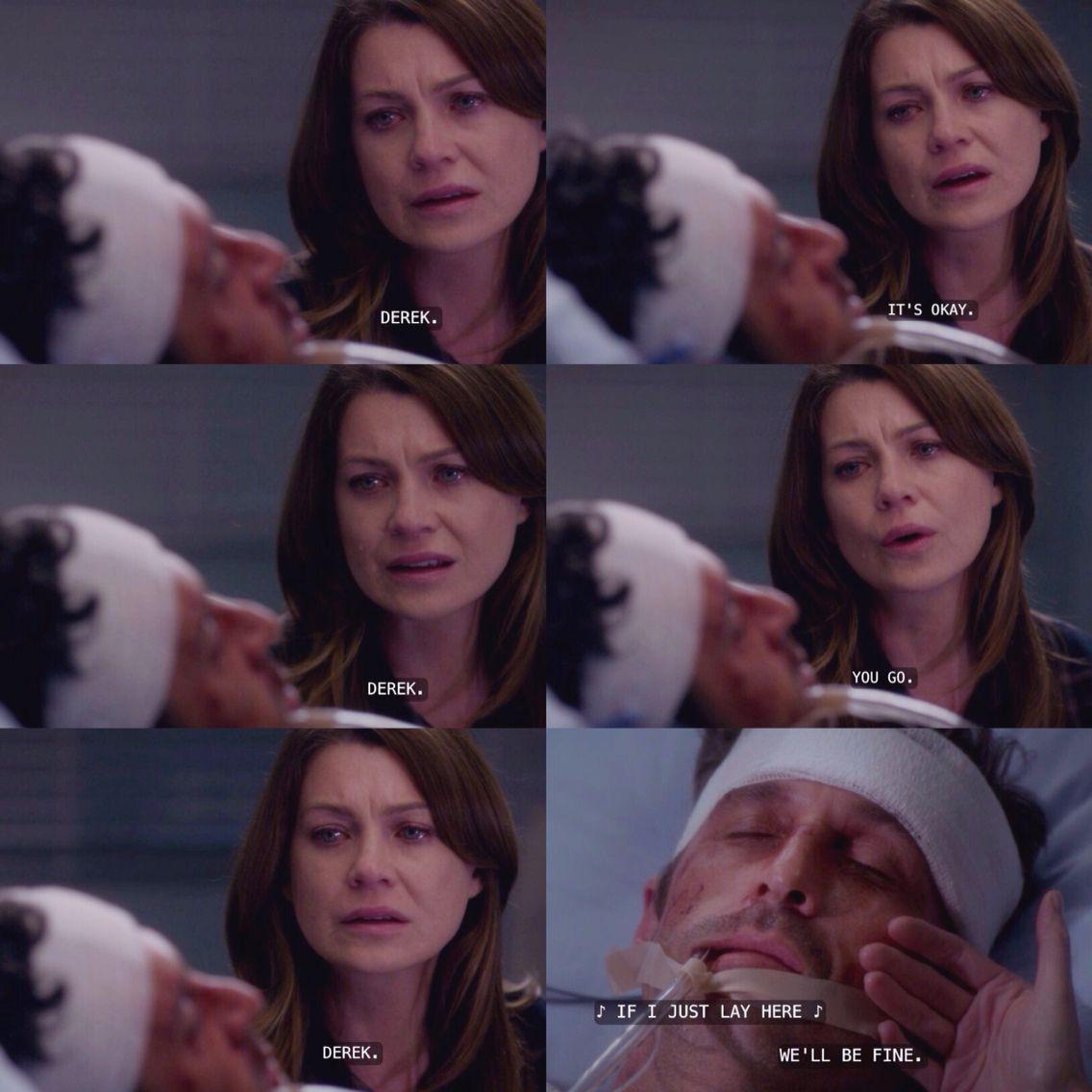 Greys Anatomy Quotes Heartbreaking Moments Derek Dies Merediths