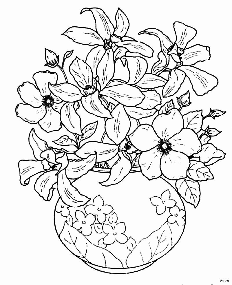 In Design Coloring Best Of Best Vases Flower Vase Coloring Page Pages Flowers In A Drawing Stensil Warna