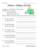 1000+ images about Mrs Marshall's HW on Pinterest | Adverbs, 2nd ...
