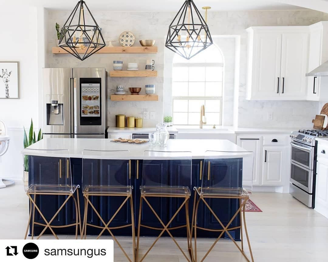 Nebraska Furniture Mart On Instagram Loving Everything About This Kitchen Samsungus Nfmathome