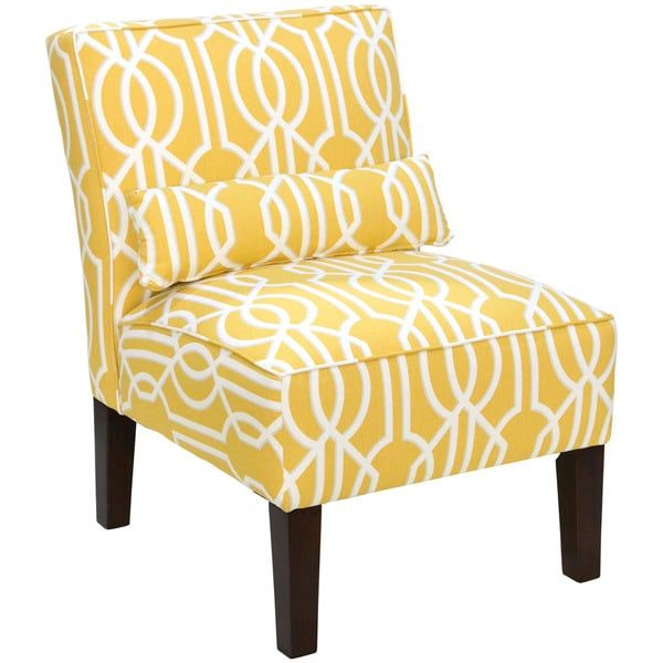 Skyline Furniture Sunshine Yellow Deco Barley Accent Chair | Delmar  Furniture | Pinterest | Sunshine, Bed Furniture And Furniture Outlet
