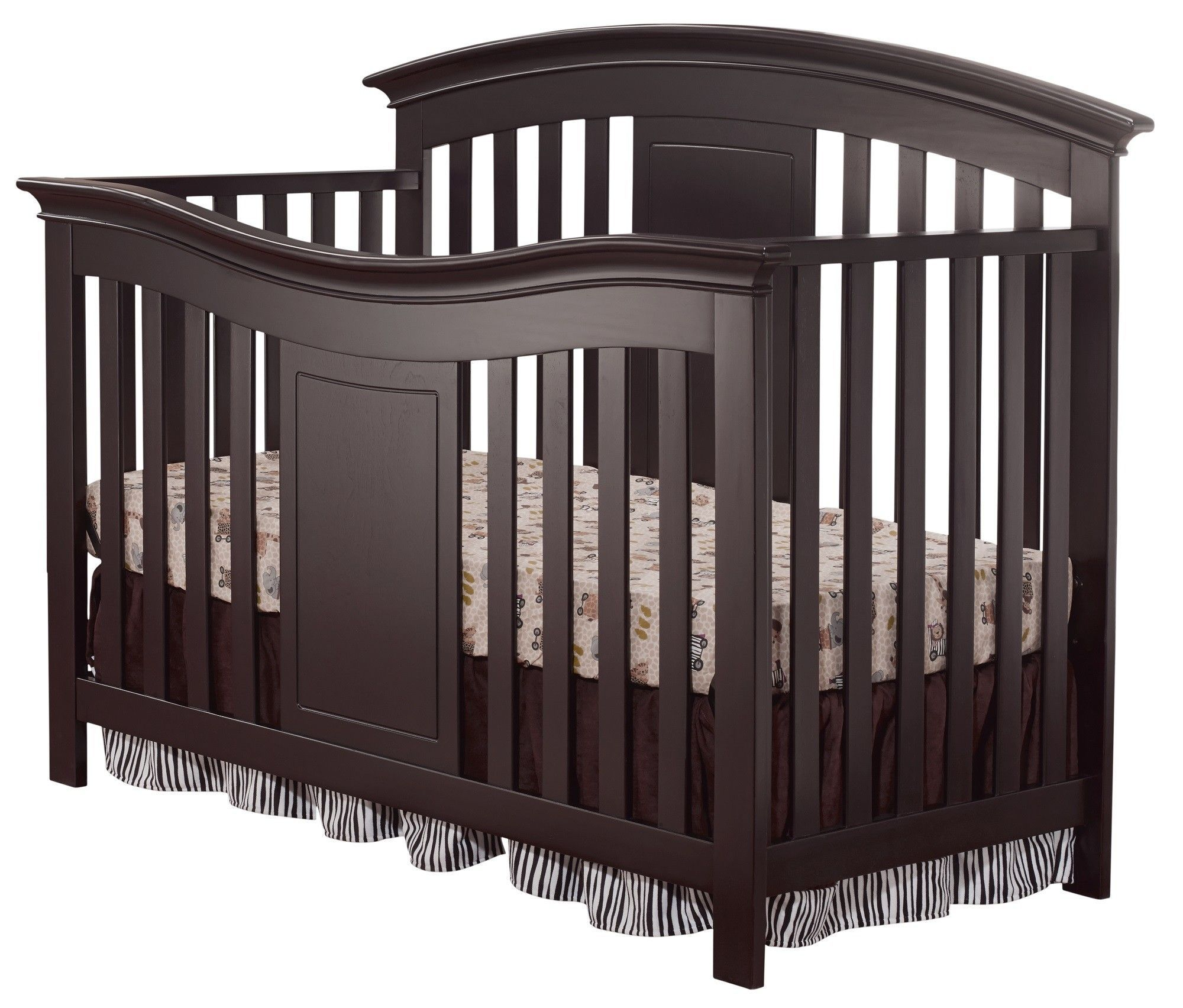 Yorkshire 4 In 1 Convertible Crib Cribs Convertible Crib Convertible Crib Espresso