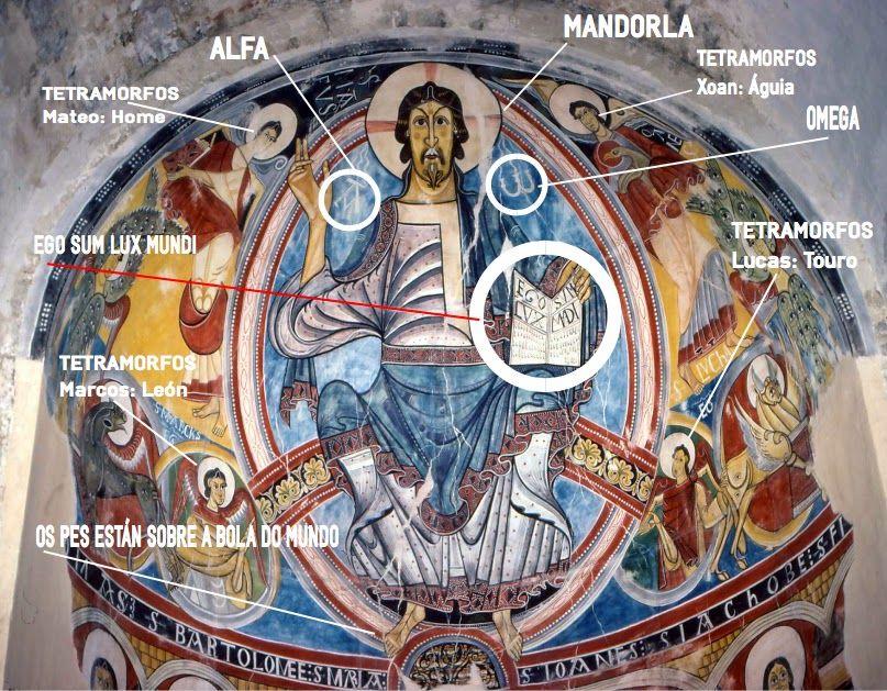 Resultado de imagen de Sant Climent de Taüll abside en su estado original