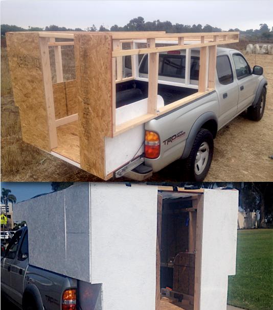 Brilliant 25 Best Mobile Rik Built A Homemade DIY Truck Camper Ideas