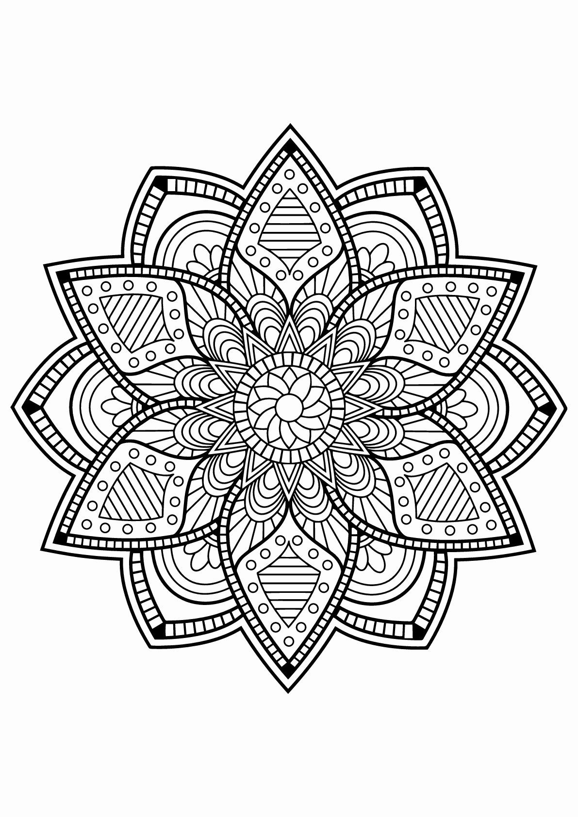 Mandala Adult Coloring Books Best Of Mandalas to Color for ...