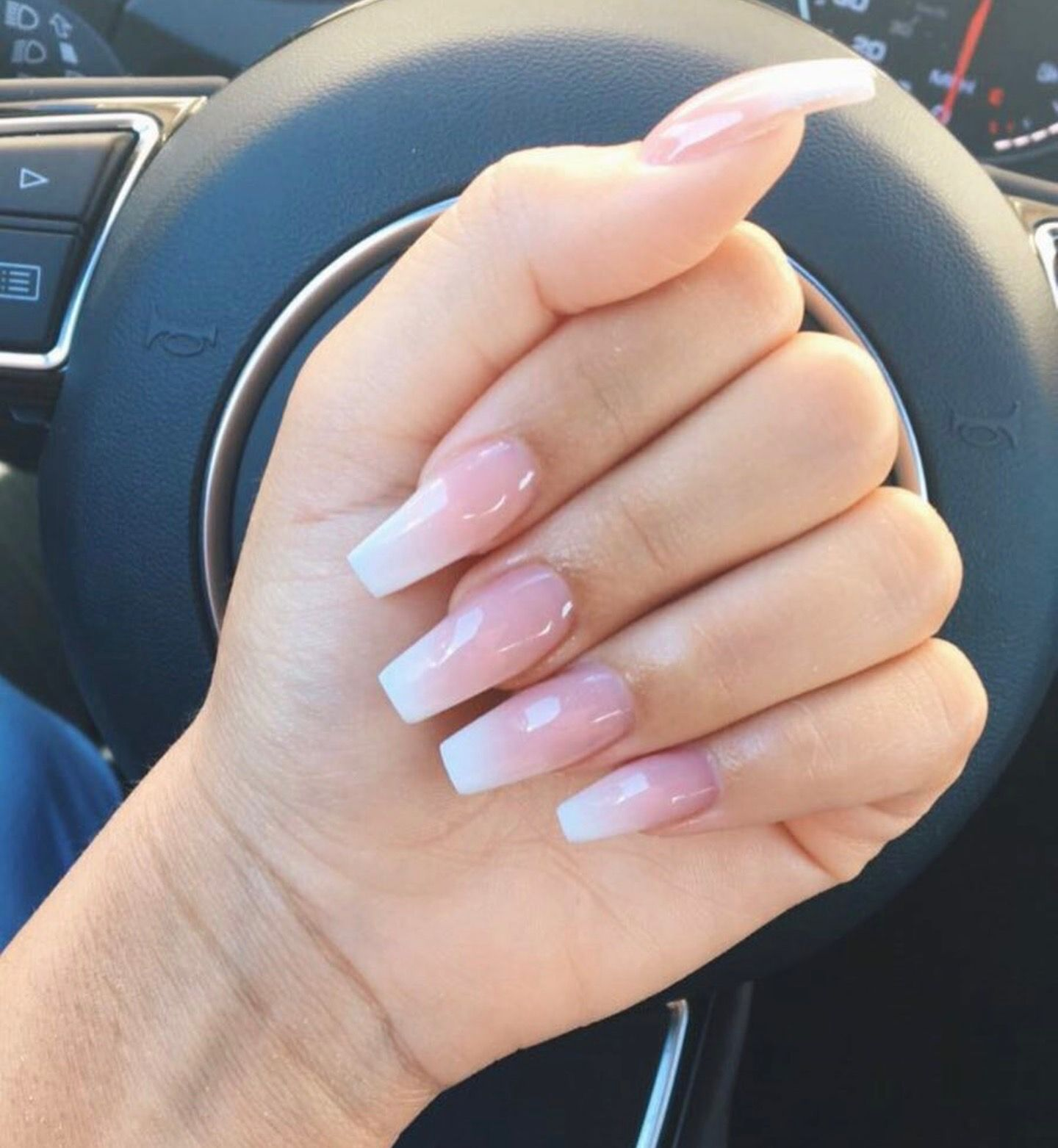 Follow My Pins Jetaelar For The Latest And More In 2020 Acrylic Nails Coffin Pink Pink Ombre Nails Ombre Nails