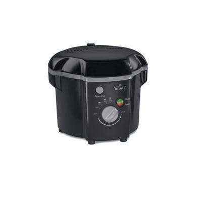 Rival Cf106 1 Liter Deep Fryer Black Check Out The Image By