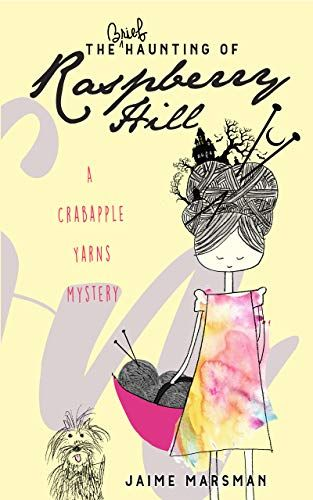 Book review of The Brief Haunting of Raspberry Hill Cozy