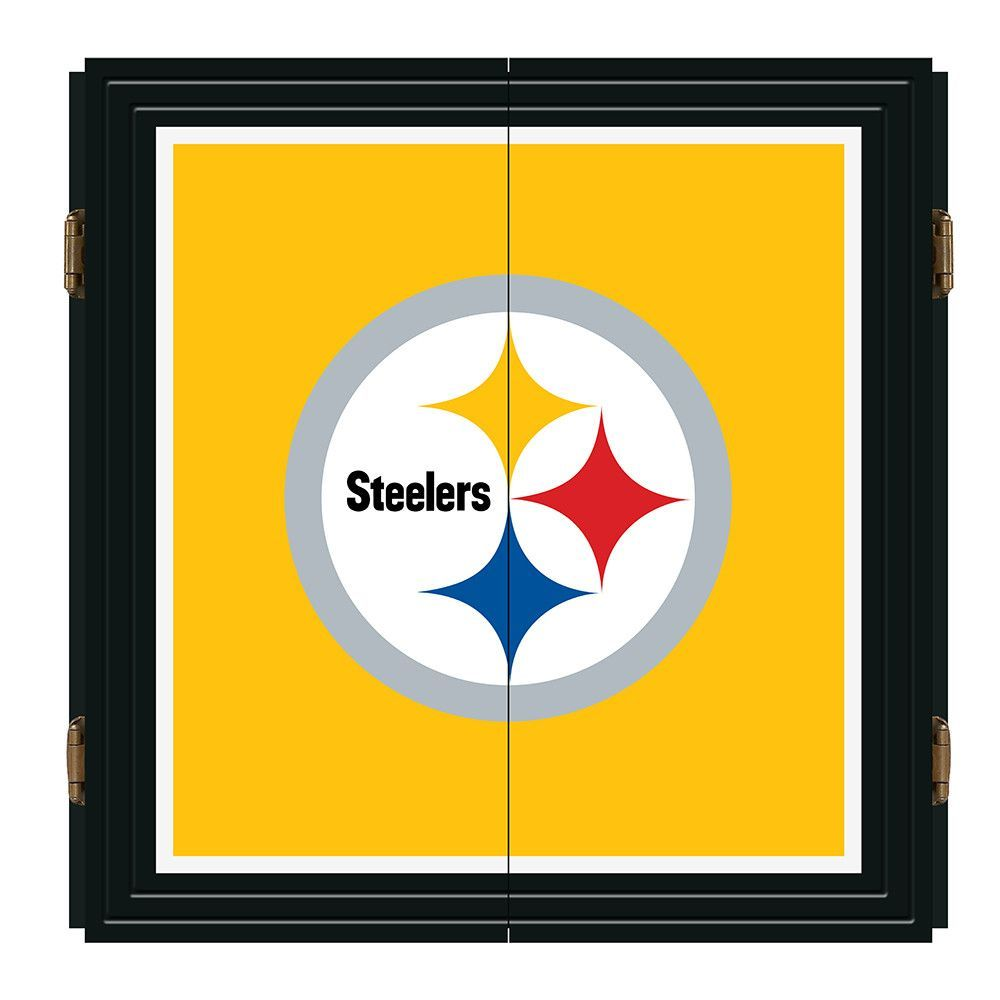 Pittsburgh Steelers NFL Extreme Dart Cabinet Set