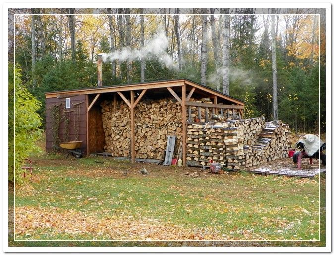 Bonfire Wood Storage