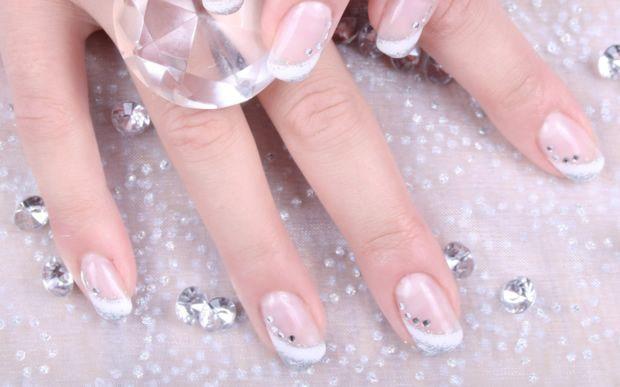 Modele De Unghii Simple Manichiura Frantuzeasca Nails Nail Art