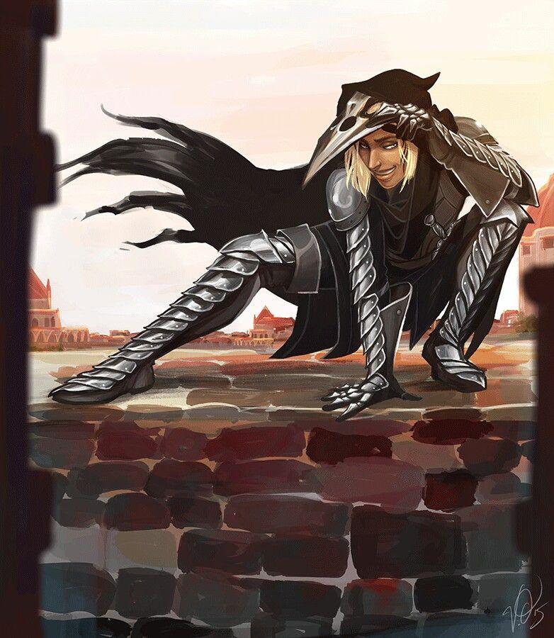 Zevran http://tainted-knight.tumblr.com/