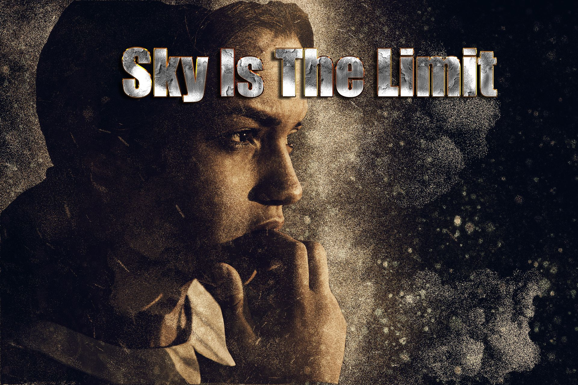 "Images For Print or T shirts Design-""women sky is the limit"" 
