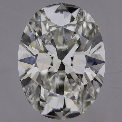 2.53 Carat G Color Oval Diamond, SI1, GIA Certified from Enchanted Diamonds