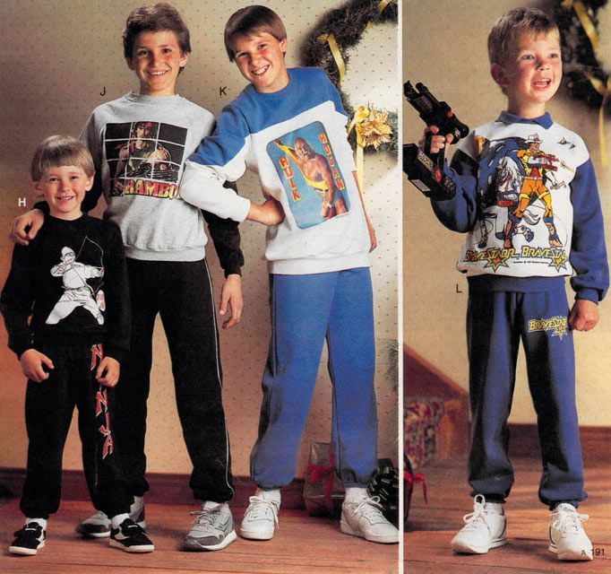 Pin on 80s Kid & Teen Fashion - photo#11