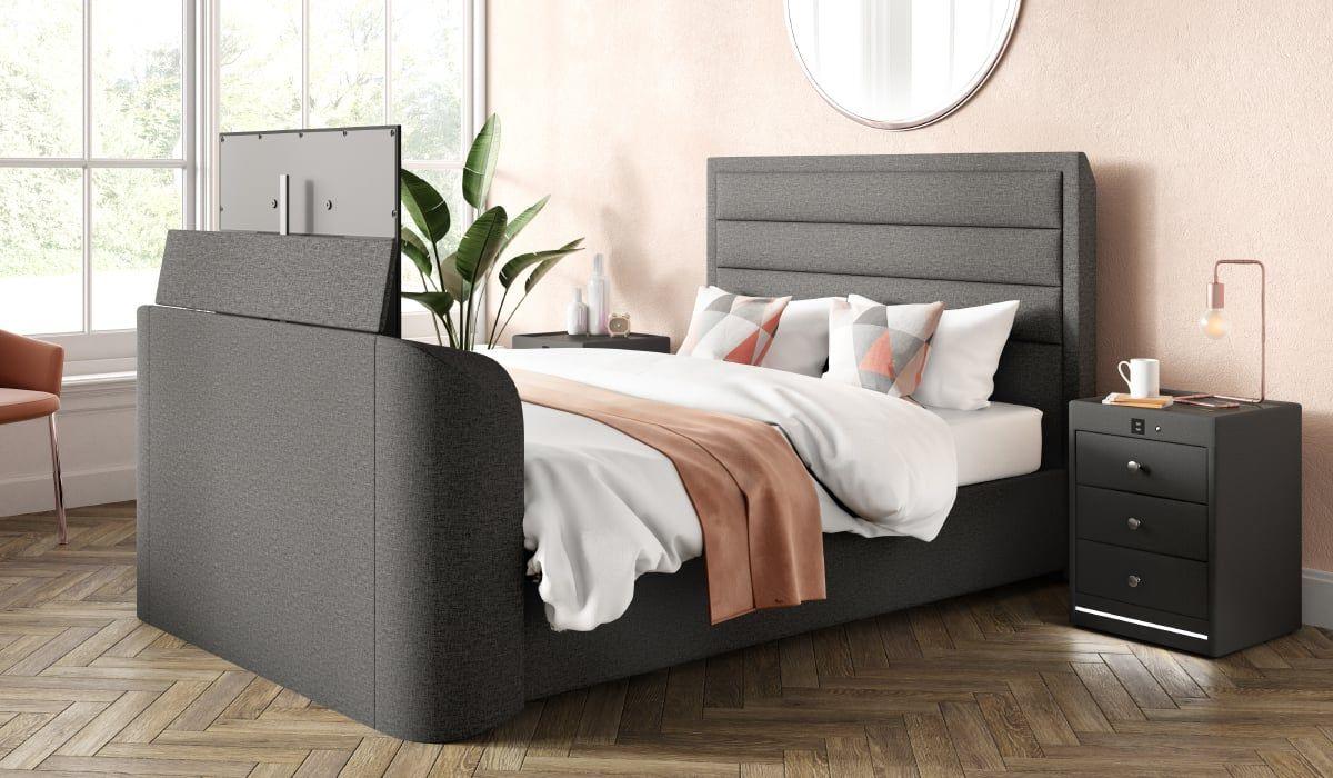 Legend Tv Bed Frame With 40 Smart Led Tv Tv Beds Bedroom
