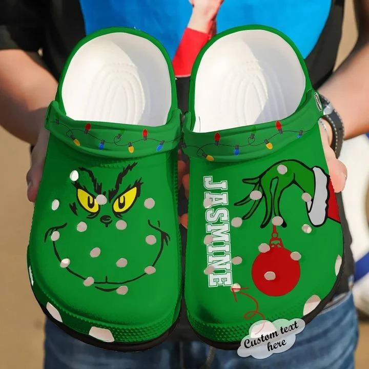 Crocs shoes, Crocs, Grinch shoes