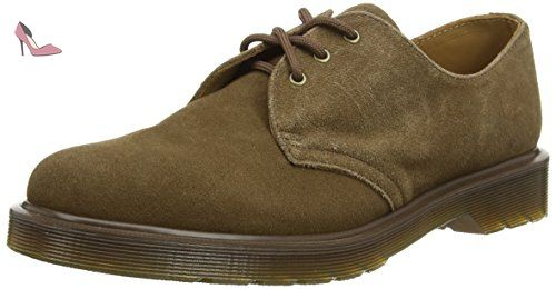 Dr. Martens 1461 Smooth 10078102-4, Chaussures à lacets mixte adulte - Bleu - Bleu marine, 36 EU