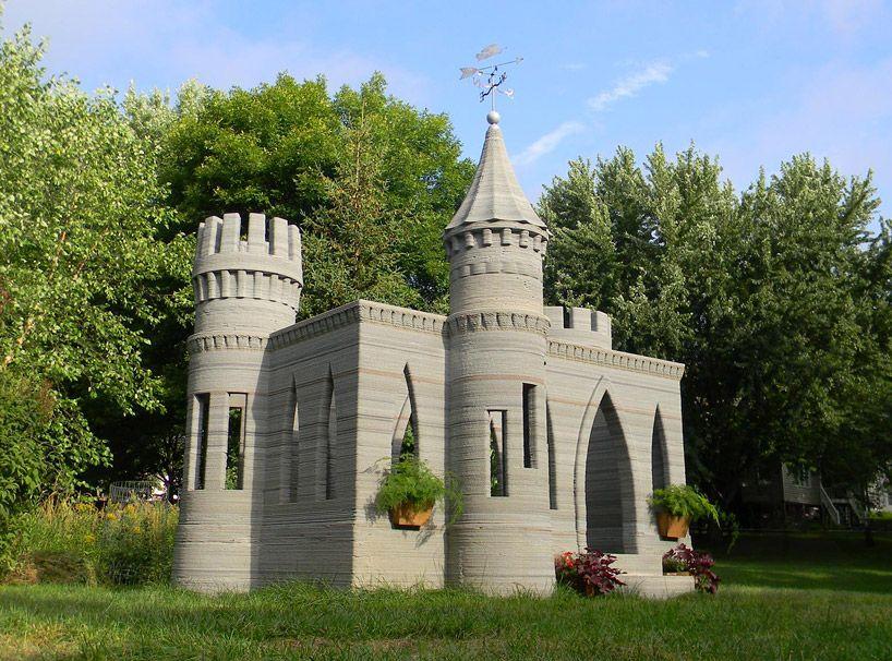 impression 3d chateau architecture pinterest impression 3d maison et beton imprim. Black Bedroom Furniture Sets. Home Design Ideas