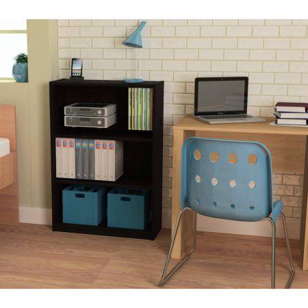 Buy Ameriwood 3 Shelf Bookcase Multiple Finishes At Walmart
