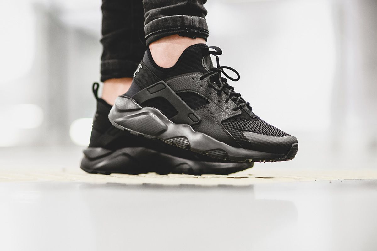 Nike Drops the Air Huarache Run Ultra BR in All Black