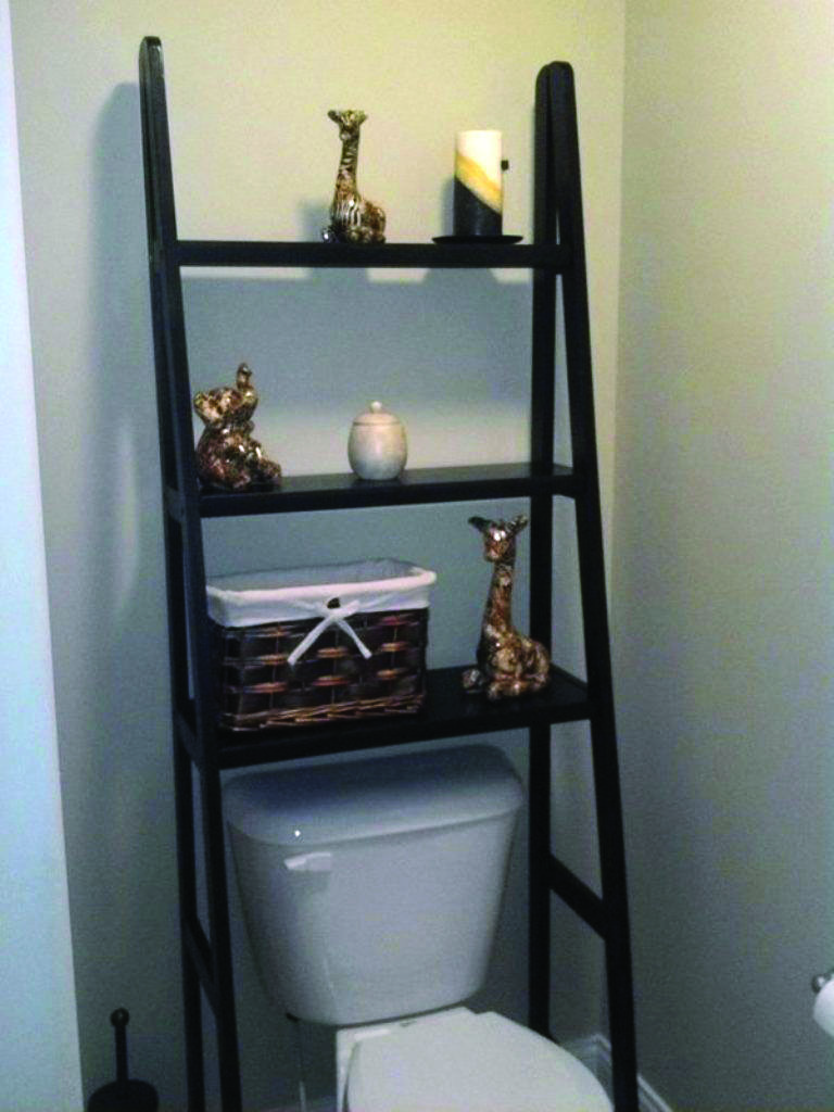 15 Brilliant Over The Toilet Storage Ideas That Make The Most Of Your Space Small Bathroom Storage Bathroom Shelves Over Toilet Toilet Storage