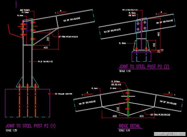 Joint Steel Wf 200 Teknik Sipil Arsitektur Arsitek