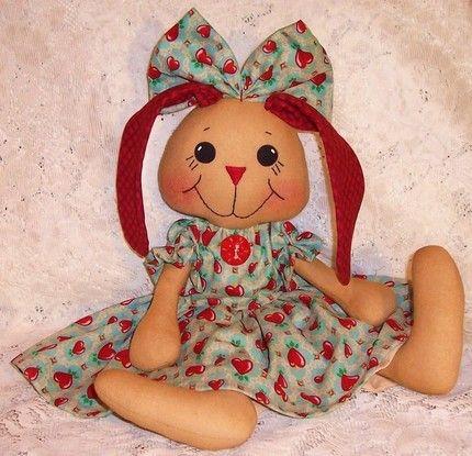 Free Rag Doll Patterns Pattern Primitive Raggedy Ann