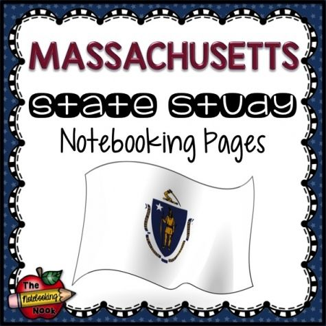Massachusetts State Study Notebooking Pages