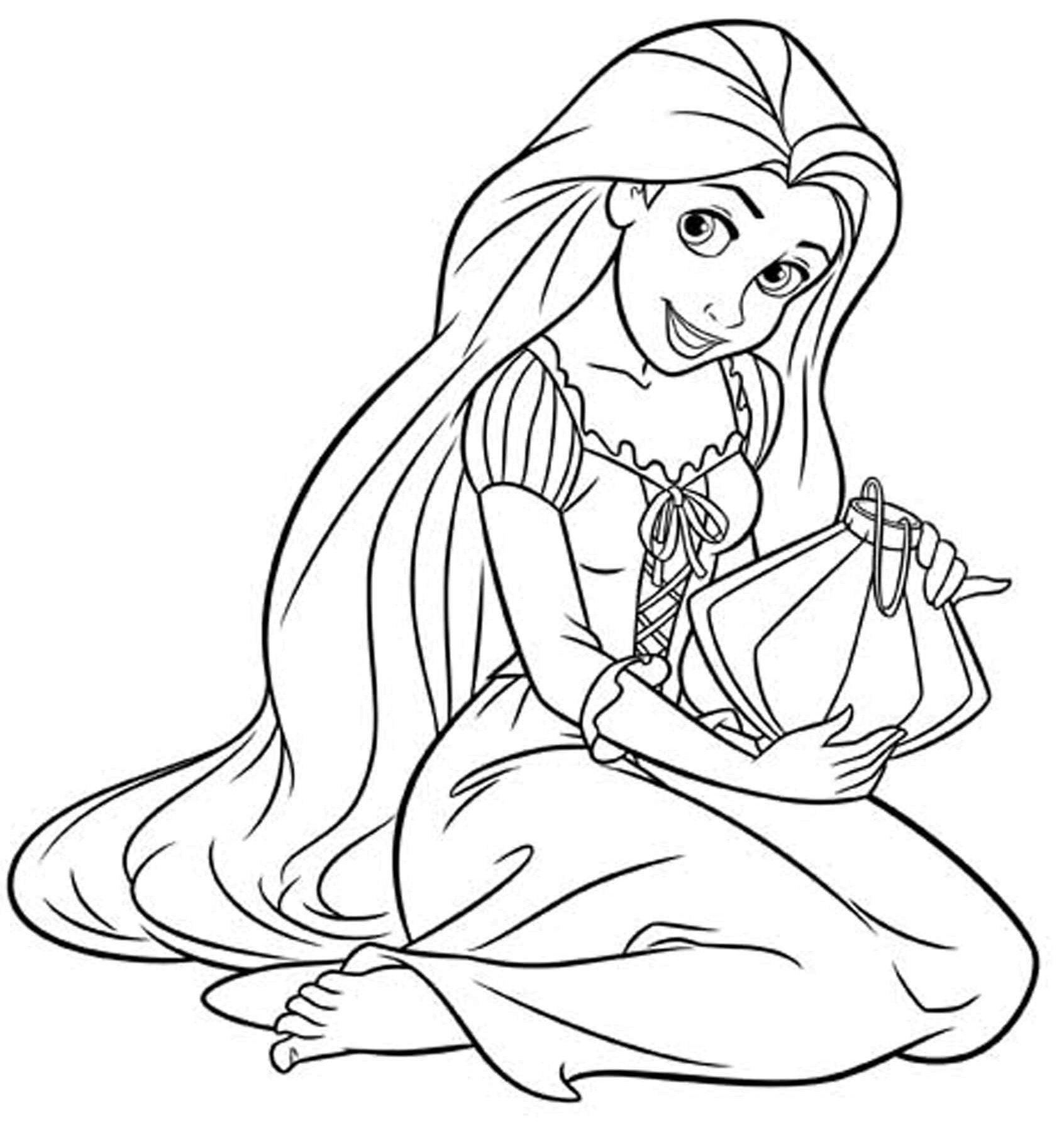 Épinglé par ColoringsWorld.com sur Princess Coloring Pages | Pinterest