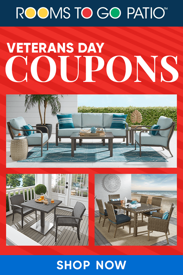 Veterans Day Coupons Patio Furniture For Sale Side Chairs Dining Rooms To Go