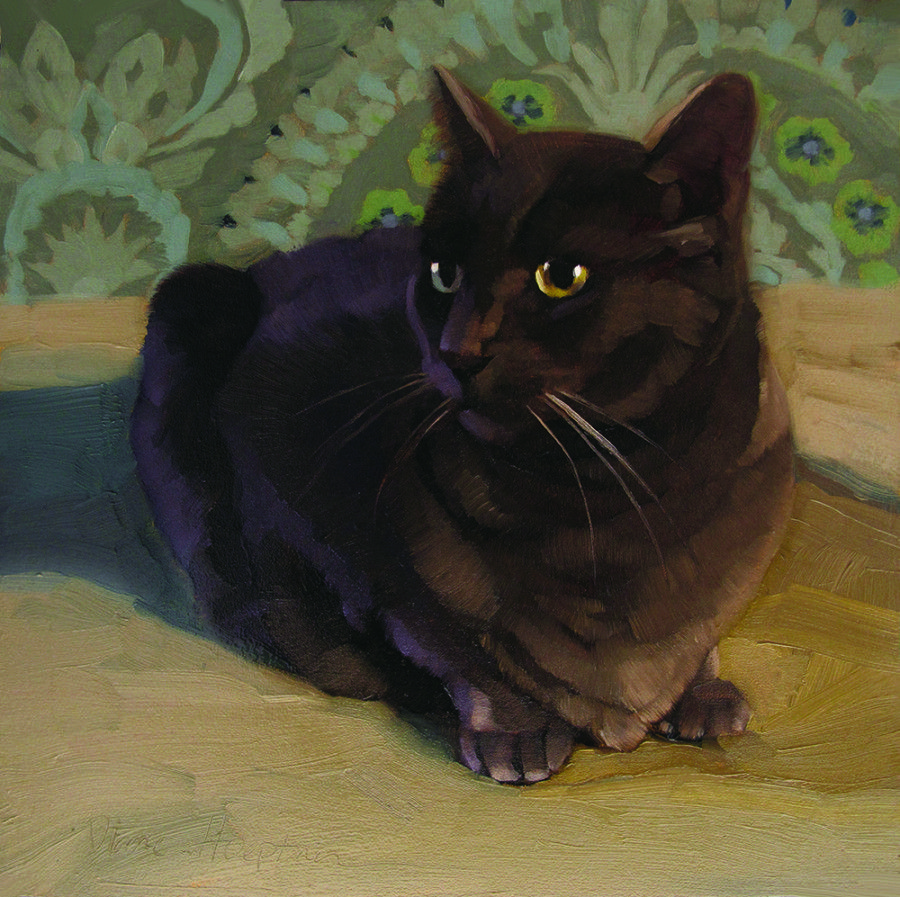 """""""Dragon Cat"""" featured in HUFFPOST Arts & Culture article """"Let's Make 2015 The Year We All Start Painting"""" about Carol Marine's book!"""