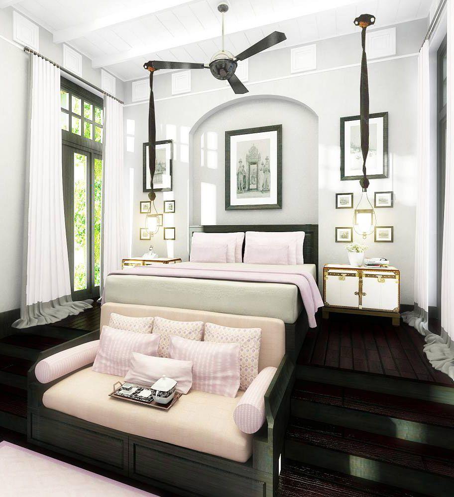 Master Bedroom. Suite at The Siam, Bangkok, Thailand. Designer: Bill ...