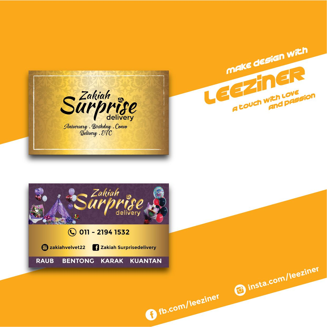 Surprise Business Card Make Design Cards Business Cards