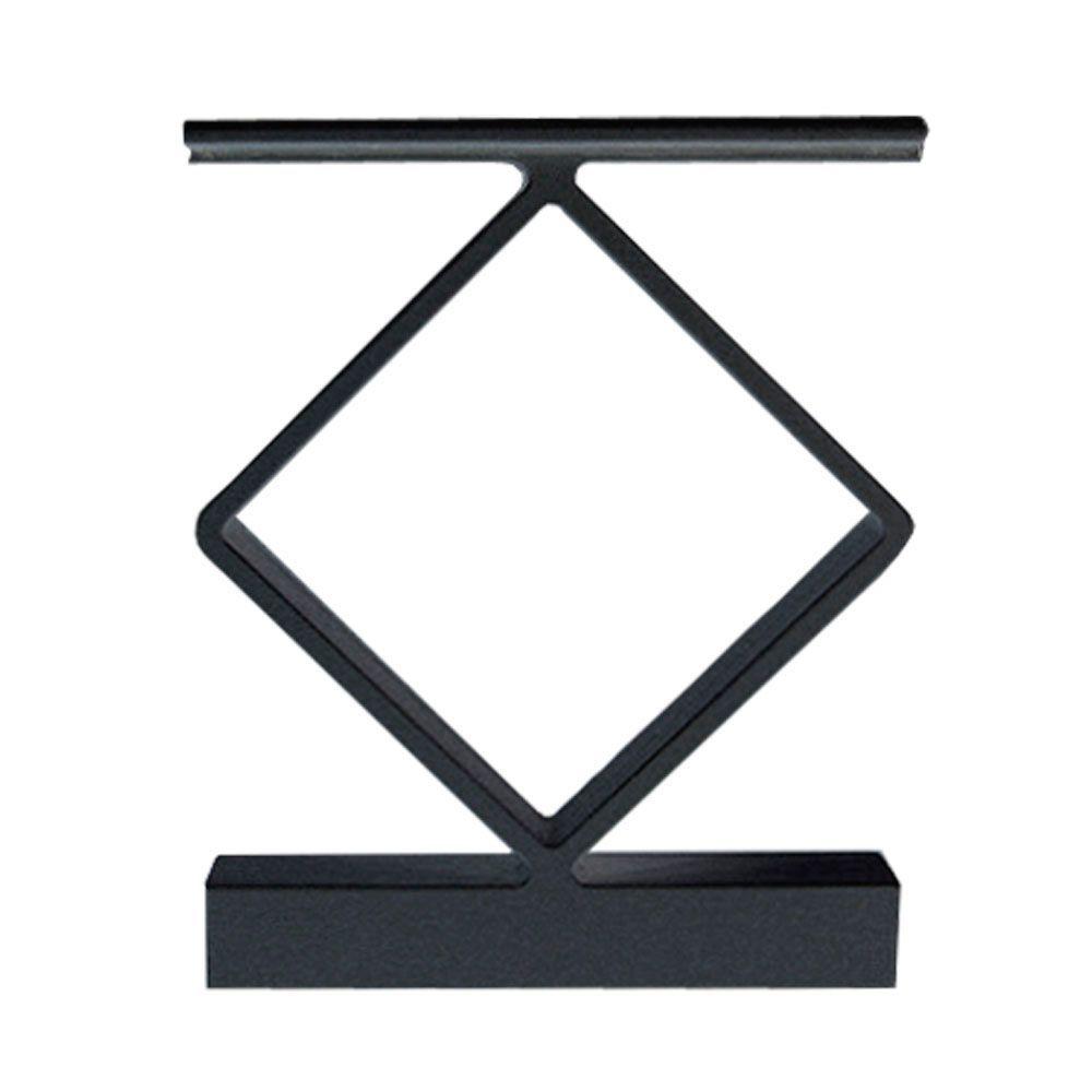 Best Railblazers Decor Handrail Spacers 4 Pack Black 640 x 480