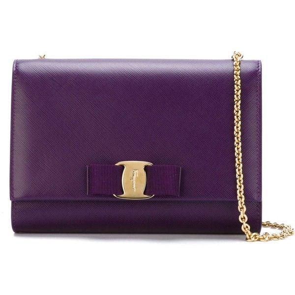 Salvatore Ferragamo Miss Vara Crossbody Bag ( 566) ❤ liked on Polyvore  featuring bags c9ce9d1f715cb