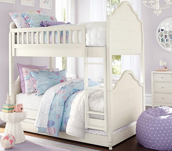 Juliette Twin Over Twin Bunk Bed Pottery Barn Kids Kiddie Foods