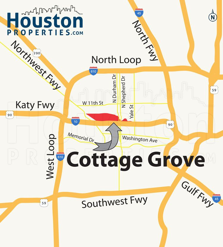 Check Out This Cool Cottage Grove Houston Map