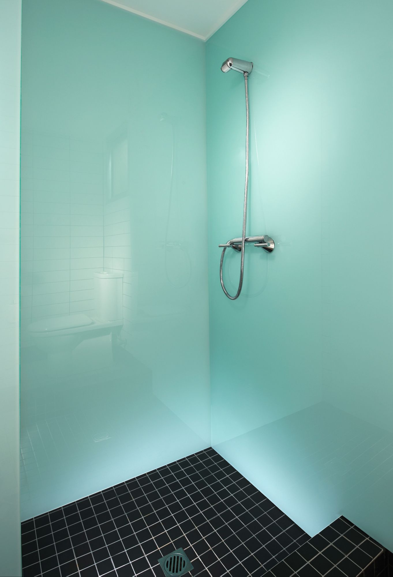 Lovely Bathroom Glass Wall Panels Cost