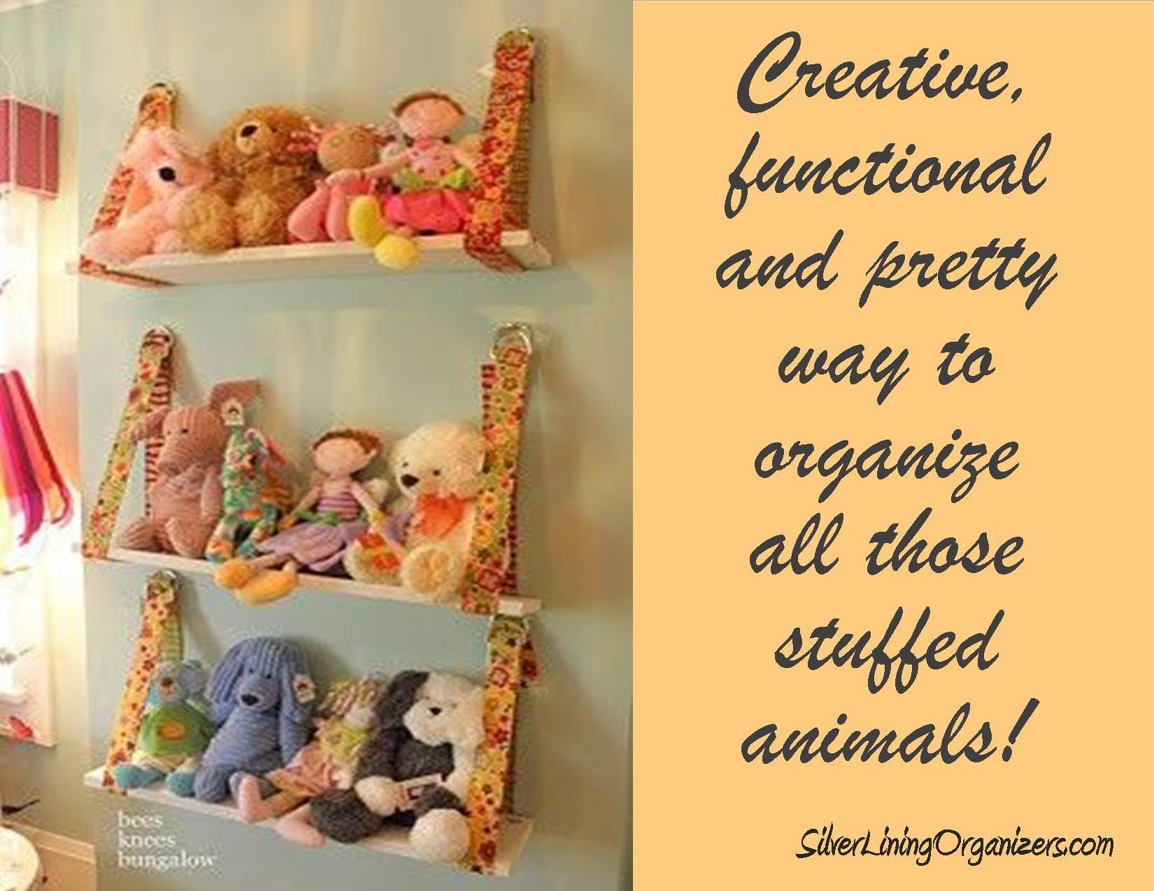 Stuffed Animals Kids Toy Organization Organization