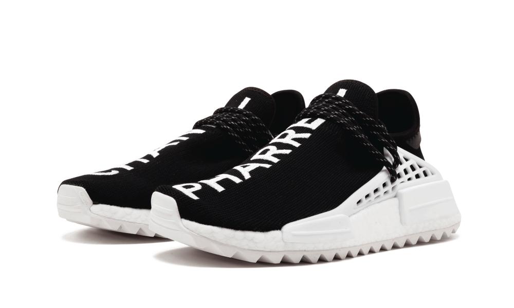 Adidas Originals NMD Human Race Pharrell Williams All Black N·E·R·D for Sale