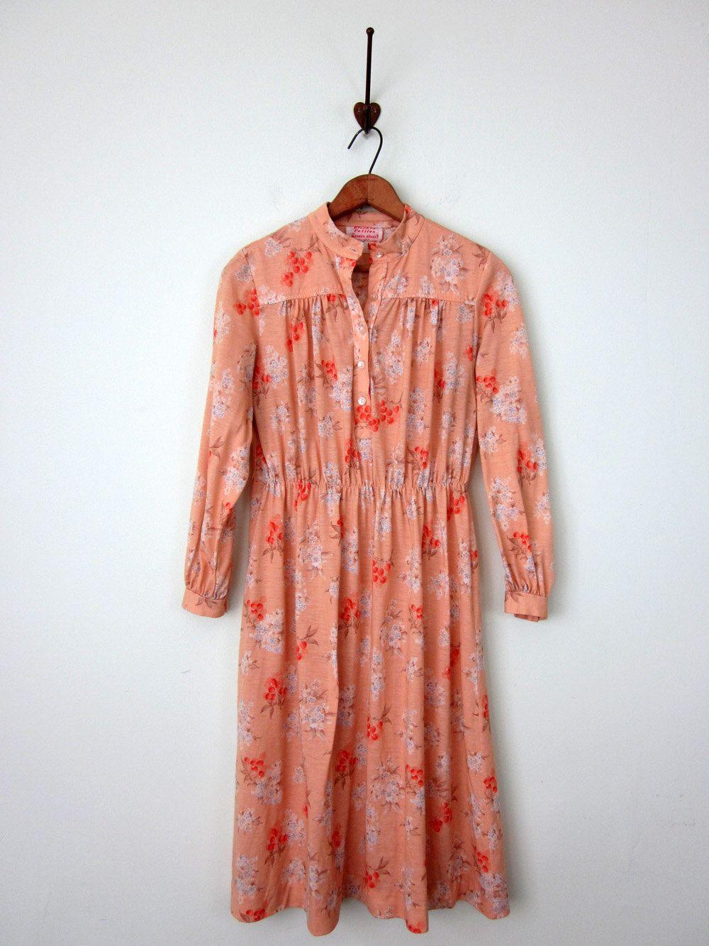 70s dress - add a belt