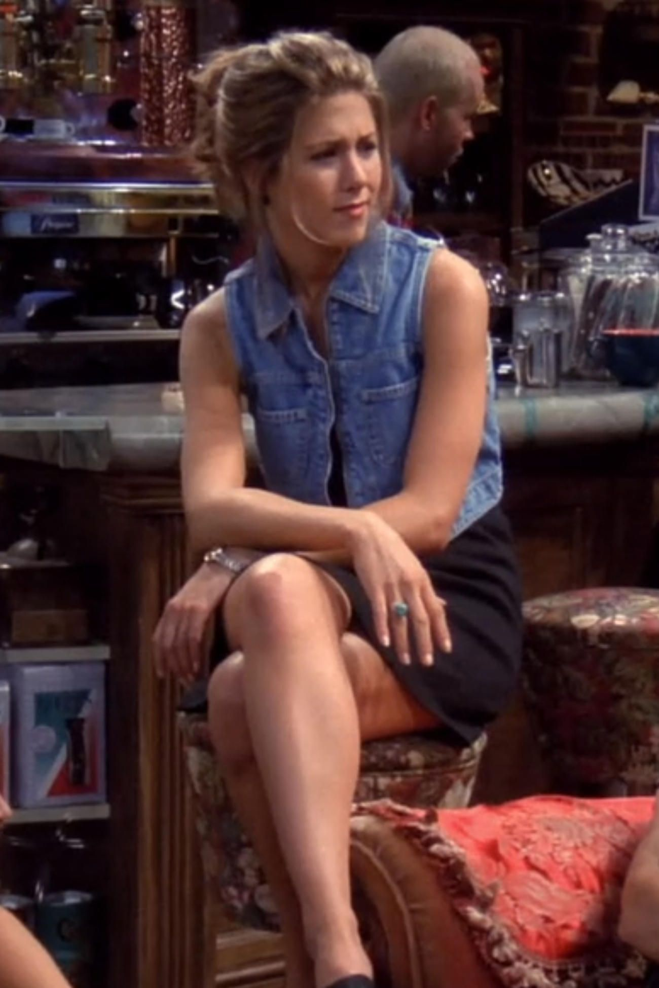Rachel Green\u0027s Best Fashion Moments from Friends  The denim
