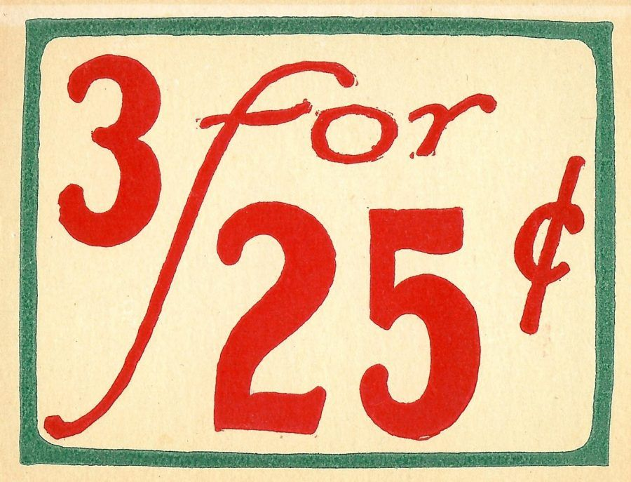 Antique Graphics Wednesday Grocery Store Price Tags And Receipt Knick Of Time Grocery Store Prices Lettering Vintage Graphics