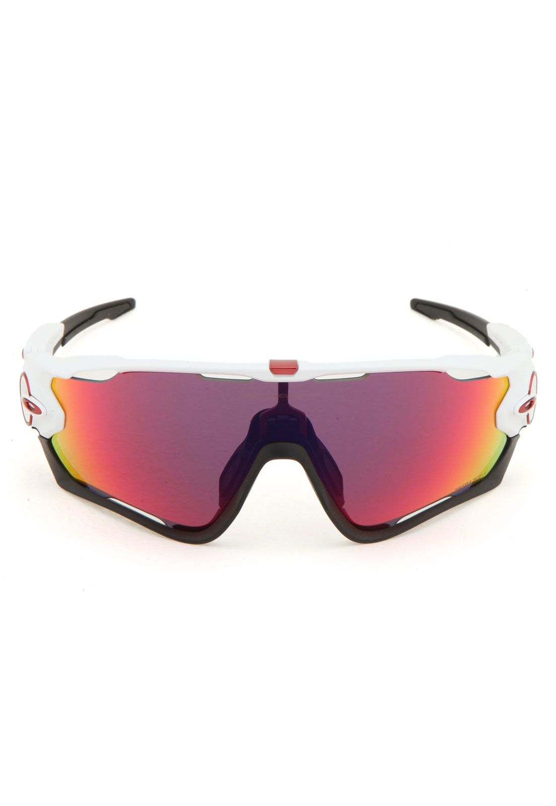 Óculos de Sol Oakley Jawbreaker Branco Preto Vermelho   Products ... 4cfdc0cada