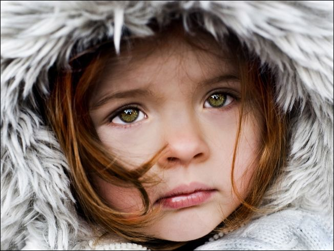 Winter portrait by Andrzej Laskowski